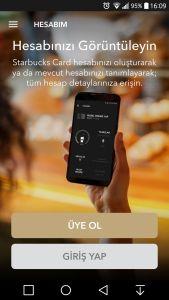 starbucks mobil app